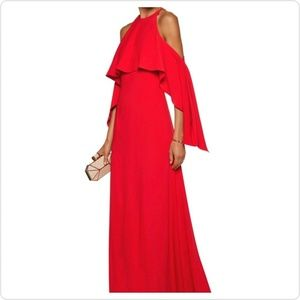 NEW | Mikael Aghal | Red Formal Gown